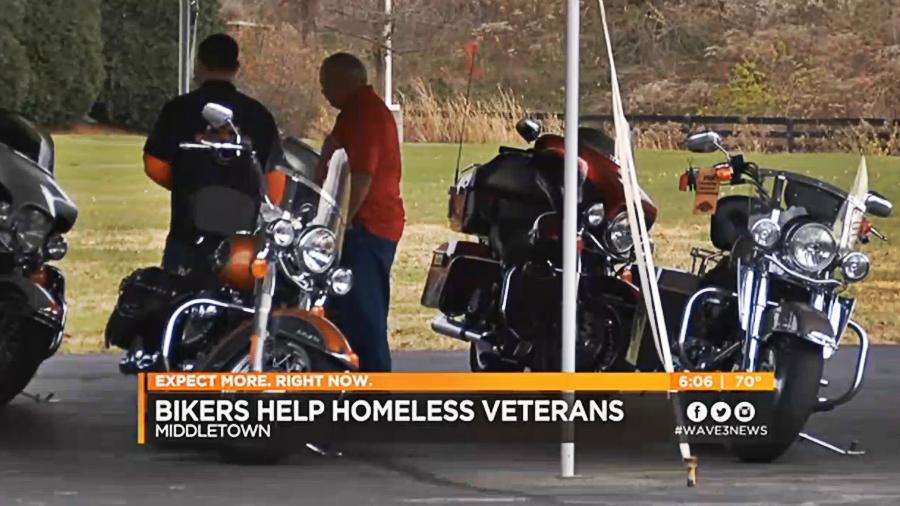Riders in Kentucky help homeless veterans