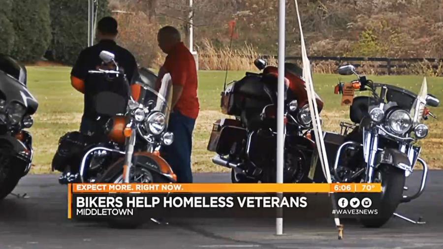 Riders in Kentucky help homeless veterans