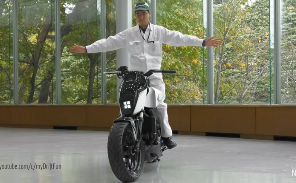 self-balancing motorcycle, safety