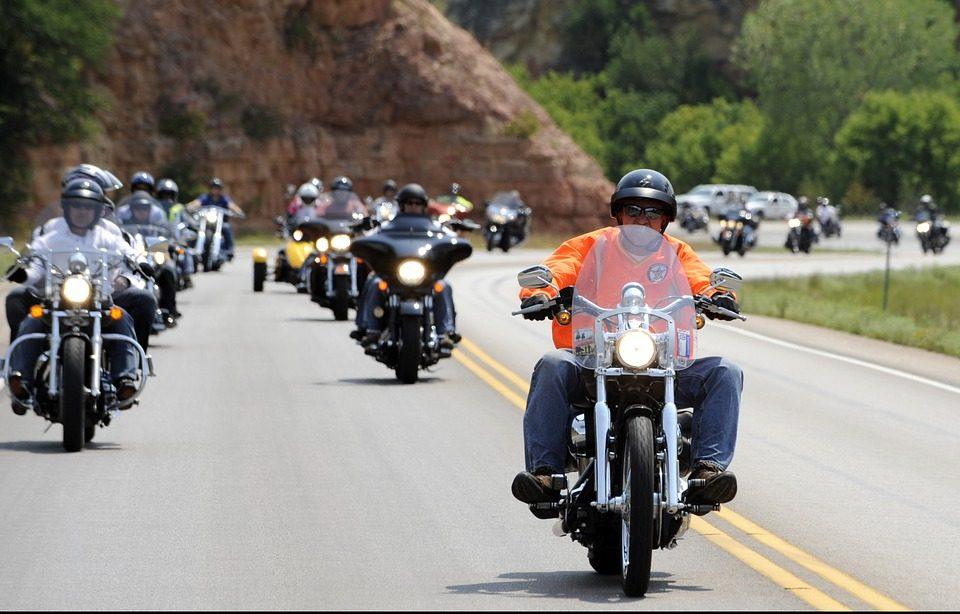 motorcycle lane-splitting